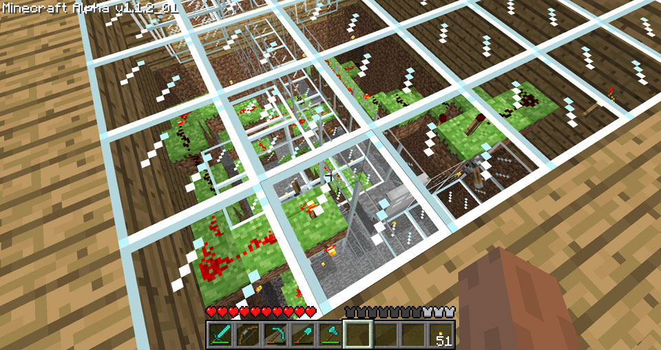 redstone controlled door simple switches discussion once i finished placing torches around the completed redstone areas and sealing it off i realized i should have just had the switches activate a single